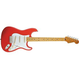 Fender Classic Series '50s Stratocaster, Maple Fingerboard, Fiesta Red