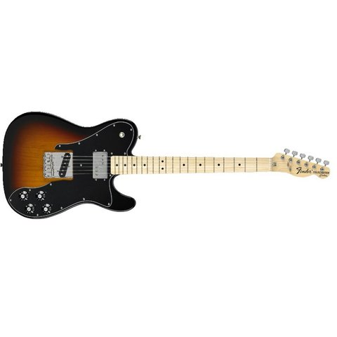 Classic Series '72 Telecaster Custom, Maple Fingerboard, 3-Color Sunburst