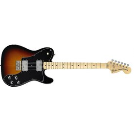 Fender Classic Series '72 Telecaster Deluxe Maple Fingerboard, 3-Color Sunburst