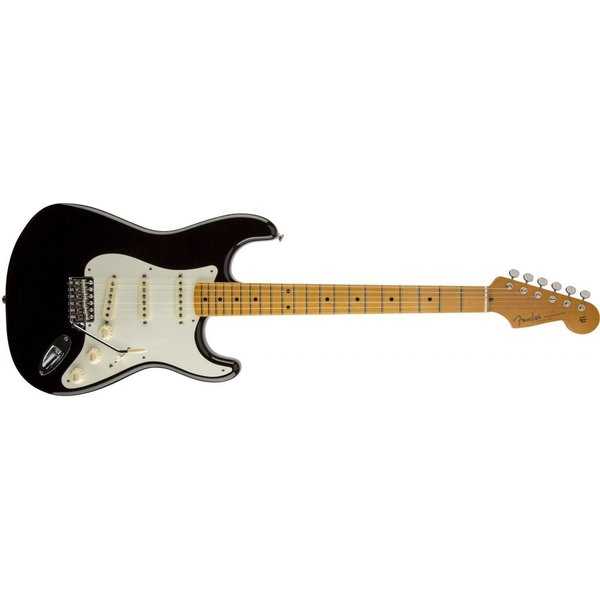 Fender Eric Johnson Stratocaster, Maple Fingerboard, Black