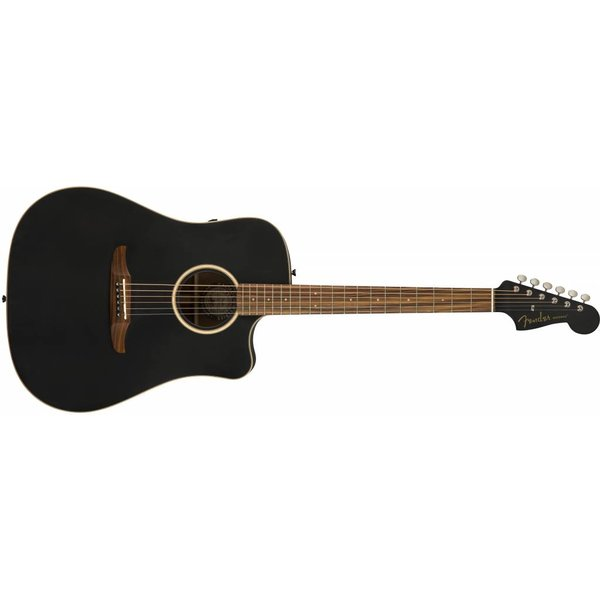Fender Newporter Special, Matte Black w/bag