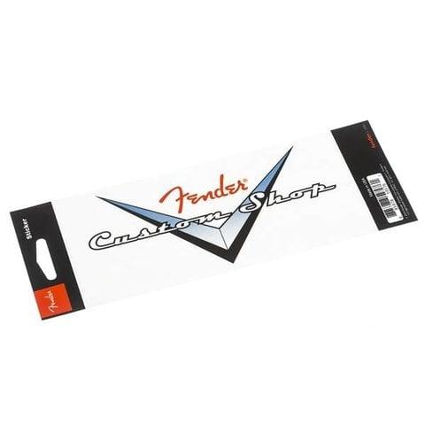 Fender Custom Shop Logo Sticker