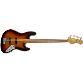 Fender Jaco Pastorius Jazz Bass, Fretless, Pau Ferro Fingerboard, 3-Color Sunburst