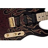 James Burton Telecaster, Maple Fingerboard, Red Paisley Flames