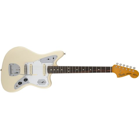 Johnny Marr Jaguar, Rosewood Fingerboard, Olympic White