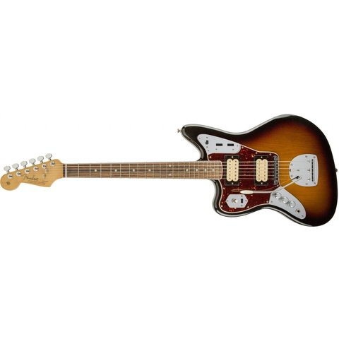 Kurt Cobain Jaguar Left-Handed, Rosewood Fingerboard, 3-Color Sunburst