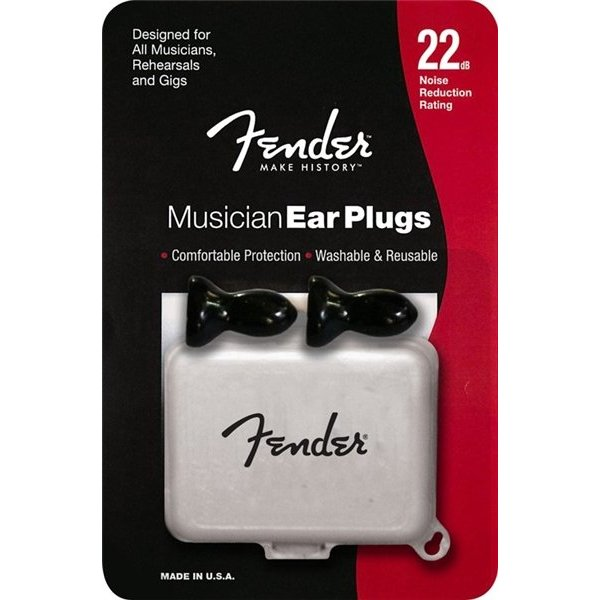 Fender Musician Series Ear Plugs, Black