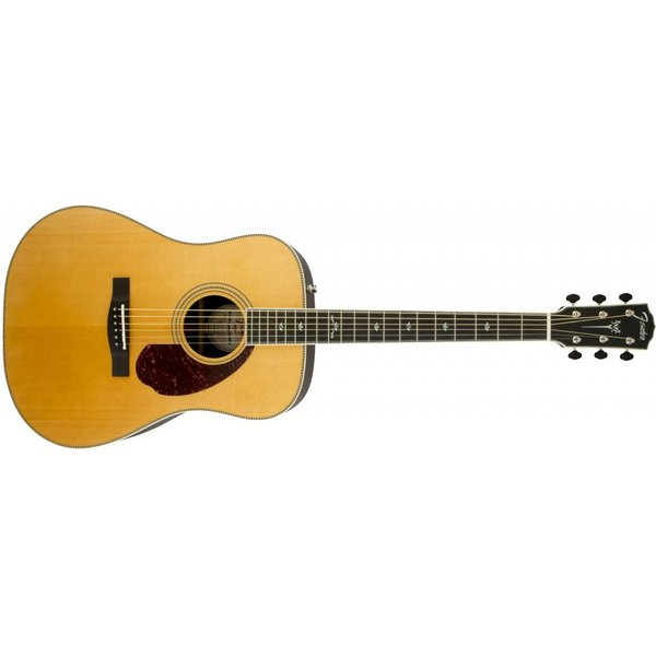 Fender PM-1 Deluxe Dreadnought, Ebony Fingerboard, Natural