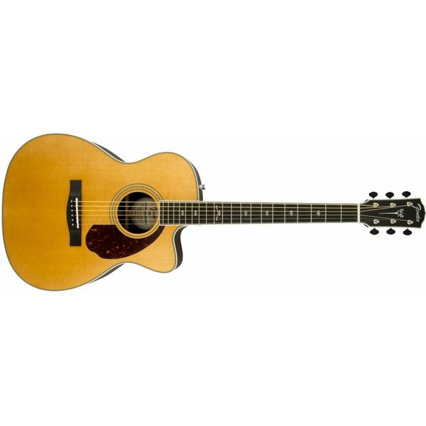 Fender PM-3 Deluxe Triple 0, Ebony Fingerboard, Natural