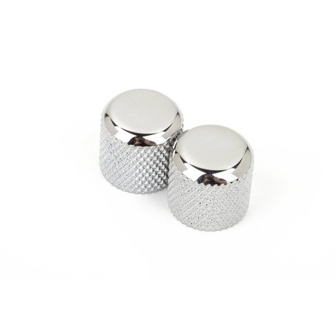 Telecaster / Precision Bass Dome Knobs (Chrome) (2)