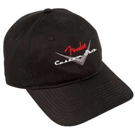 Fender Fender Custom Shop Baseball Hat, Black, One Size
