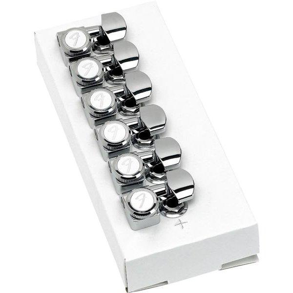 Fender Locking Stratocaster/Telecaster Tuning Machines (Polished Chrome) (6)