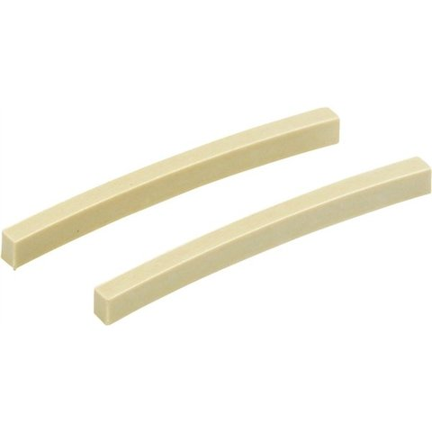 Melamine Stratocaster/Telecaster String Nut Blanks (2)