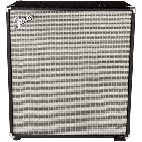Rumble 410 Cabinet (V3), Black/Silver