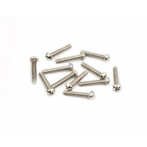 "American Vintage Stratocaster Saddle Intonation Screws 4-40 X 5/8"", Nickel (12)"