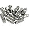 American Vint Strat/Tele Bridge Saddle Ht Adjust Screws (12) (Nickel)