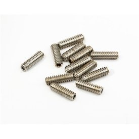 Fender Standard Bass Bridge Saddle Height Adjustment Screws 6-32 X 7/16'' Hex Nickel 12
