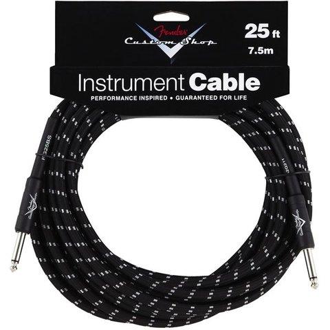 Fender Custom Shop Performance Series Cable, 25', Black