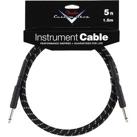 Fender Fender Custom Shop Performance Series Cable, 5', Black
