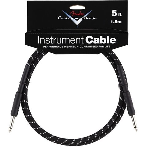 Fender Custom Shop Performance Series Cable, 5', Black