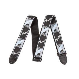 Fender Fender Monogram Guitar Strap Black, Light Grey, Blue