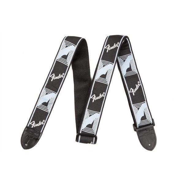 Fender Fender Monogram Guitar Strap Black, Light Grey, Blue