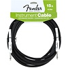 Fender Performance Series Instrument Cable, 15', Black