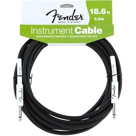 Fender Fender Performance Series Instrument Cable, 18.6', Black
