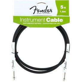 Fender Fender Performance Series Instrument Cable, 5', Black