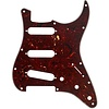 Pickguard, Stratocaster S/S/S, 11-Hole Mount, Tortoise Shell, 4-Ply