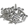 Pickguard/Control Plate Mounting Screws (24) (Chrome)