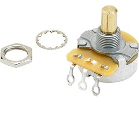 Fender Pure Vintage 250K Solid Shaft Potentiometer with Mounting Hardware