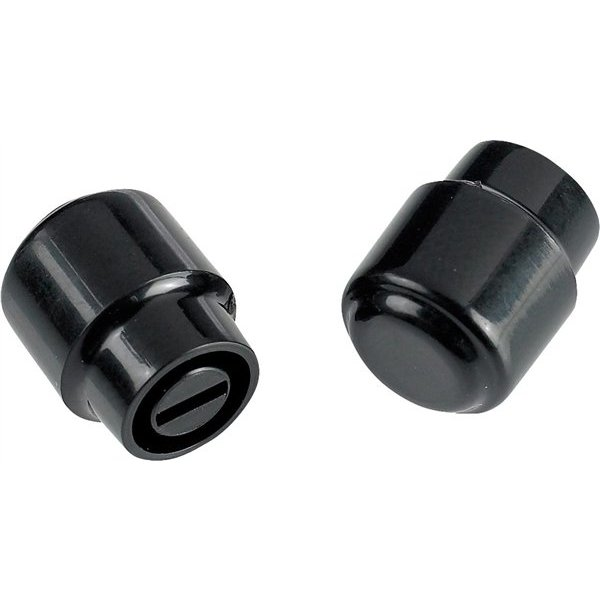 Fender Telecaster ''Barrel'' Switch Tips, Black (2)