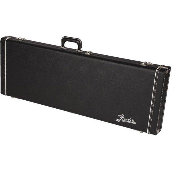 Fender G&G Deluxe Jaguar/Jazzmaster/Toronado/Jagmaster Hard Case Black w Plush Interior