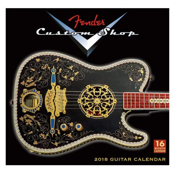 Fender 2018 Fender Custom Shop Wall Calendar