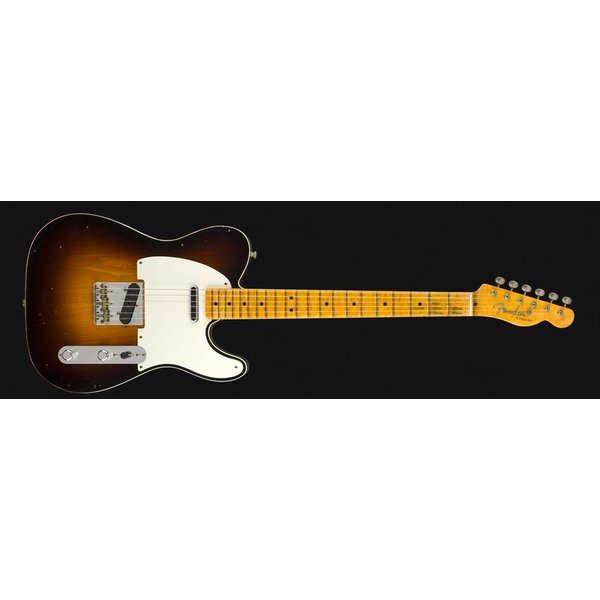 Fender Custom Shop 2018 LTD DBL ESQUIRE SPL REL - WF2SB