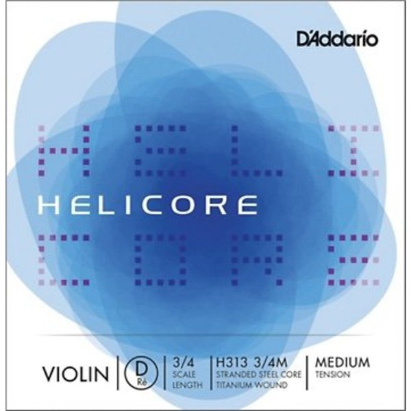 D'Addario Orchestral HELICORE VIOLIN D 3/4 MED