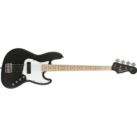 Squier Squier Contemporary Active Jazz Bass HH Maple Fingerboard Flat Black