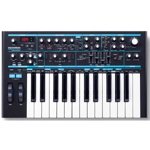 Novation Bass Station II Analog Synthesizer, 25-key, Two Oscillators