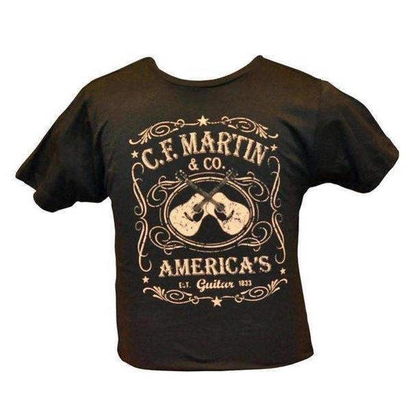 Martin Martin Dual Guitar Tee, 2XL