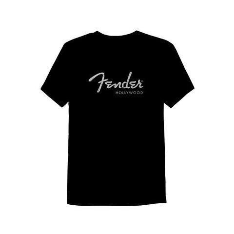 Fender Hollywood Men's T-Shirt, Black, XXL