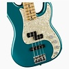 American Elite Precision Bass, Maple Fingerboard, Ocean Turquoise