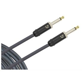 D'Addario Accessories/ (Previously Planet Waves) D'Addario American Stage Instrument Cable, Right to Straight, 15 feet