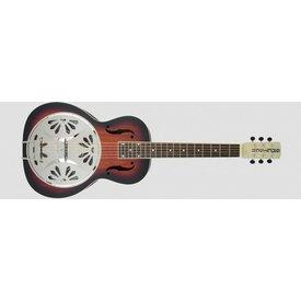 Gretsch Guitars G9230 Bobtail Sqr-Neck A.E. Mhgny Bdy Spider Cone Res Gtr, Fishman Nashville Res Pickup 2-Color SB