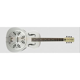 Gretsch Guitars G9221 Bobtail Steel Round-Neck A.E. Steel Bdy Spider Cone Res Gtr, Fishman Nashville Res Pickup