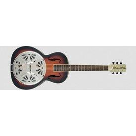 Gretsch Guitars G9220 Bobtail Round-Neck A.E. Mhgny Bdy Spider Cone Res Gtr