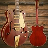 Gretsch G5422G-12 Electromatic Hollow Dbl-Cut 12-String w Gold Hw, Walnut Stain