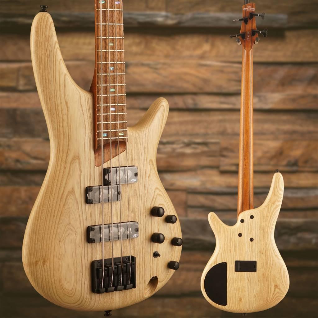 Ibanez SR650NTF SR Soundgear Electric Bass Guitar Natural Flat