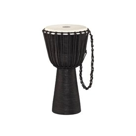 Meinl Cymbals Meinl Percussion Rope Tuned Headliner Series Wood Djembe Black River Series XL