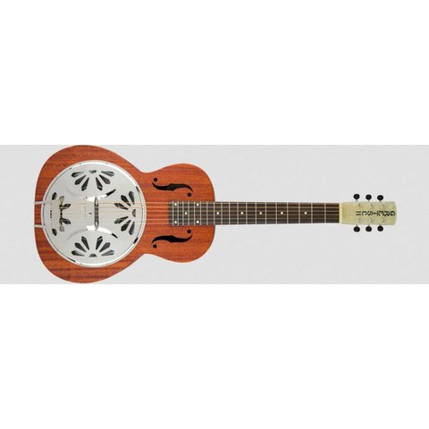 G9210 Boxcar Square-Neck, Mahogany Body Resonator Guitar, Natural